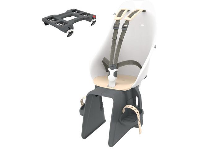 Urban Iki Kindersitz für Gepäckträger shinju white/kinako beige